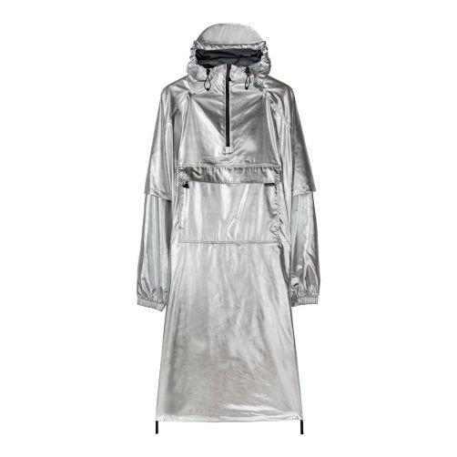 Maium---Regenmantel-für-Erwachsene---(08)-Poncho---Silber