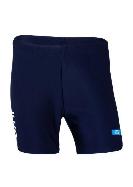 JUJA---UV-Badeshorts-für-Kinder---Solid---Marineblau