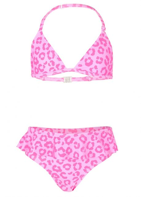 JUJA---Bikini-für-Mädchen---Leopard-Ruches---Rosa
