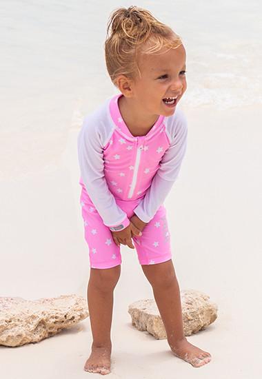 UV-Kleidung aus recycelten PET-Flaschen für Babys